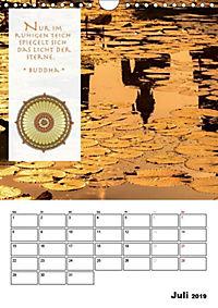 BUDDHAS ZITATE Buddhistische Weisheiten (Wandkalender 2019 DIN A4 hoch) - Produktdetailbild 7