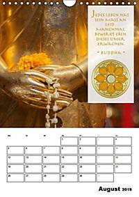 BUDDHAS ZITATE Buddhistische Weisheiten (Wandkalender 2019 DIN A4 hoch) - Produktdetailbild 8
