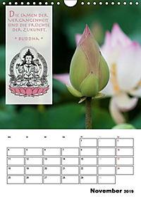 BUDDHAS ZITATE Buddhistische Weisheiten (Wandkalender 2019 DIN A4 hoch) - Produktdetailbild 11