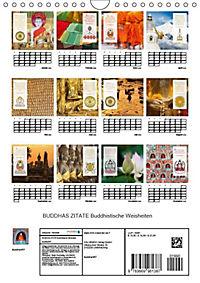 BUDDHAS ZITATE Buddhistische Weisheiten (Wandkalender 2019 DIN A4 hoch) - Produktdetailbild 13