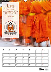 BUDDHAS ZITATE Buddhistische Weisheiten (Wandkalender 2019 DIN A3 hoch) - Produktdetailbild 3