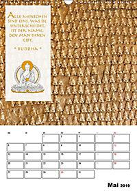 BUDDHAS ZITATE Buddhistische Weisheiten (Wandkalender 2019 DIN A3 hoch) - Produktdetailbild 5