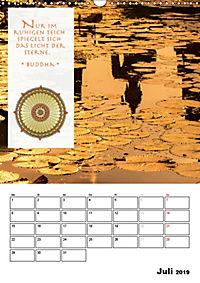 BUDDHAS ZITATE Buddhistische Weisheiten (Wandkalender 2019 DIN A3 hoch) - Produktdetailbild 7