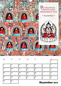 BUDDHAS ZITATE Buddhistische Weisheiten (Wandkalender 2019 DIN A3 hoch) - Produktdetailbild 12