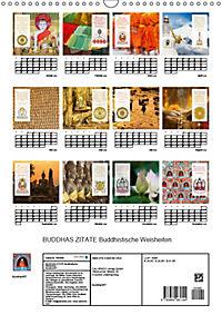 BUDDHAS ZITATE Buddhistische Weisheiten (Wandkalender 2019 DIN A3 hoch) - Produktdetailbild 13