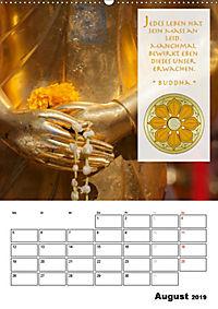 BUDDHAS ZITATE Buddhistische Weisheiten (Wandkalender 2019 DIN A2 hoch) - Produktdetailbild 8