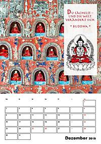 BUDDHAS ZITATE Buddhistische Weisheiten (Wandkalender 2019 DIN A2 hoch) - Produktdetailbild 12