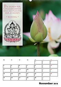 BUDDHAS ZITATE Buddhistische Weisheiten (Wandkalender 2019 DIN A2 hoch) - Produktdetailbild 11