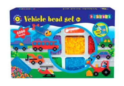 Bügelperlen-Set Fahrzeug, 4.000 Perlen
