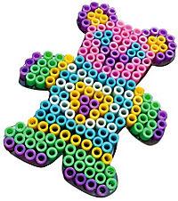 Bügelperlen XL, 950tlg. (Farbe: Pastellfarben) - Produktdetailbild 5