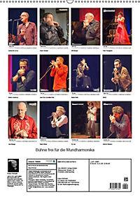 Bühne frei für die Mundharmonika (Wandkalender 2019 DIN A2 hoch) - Produktdetailbild 13