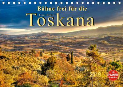 Bühne frei für die Toskana (Tischkalender 2019 DIN A5 quer), Peter Roder