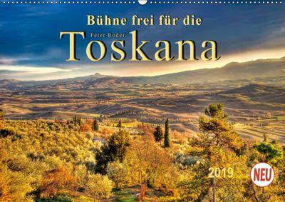 Bühne frei für die Toskana (Wandkalender 2019 DIN A2 quer), Peter Roder