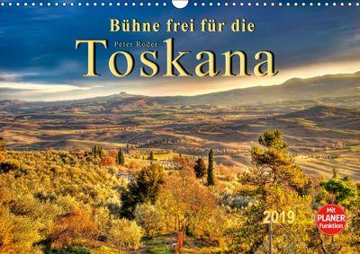 Bühne frei für die Toskana (Wandkalender 2019 DIN A3 quer), Peter Roder