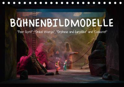 Bühnenbildmodelle (Tischkalender 2019 DIN A5 quer), Pia Tasche
