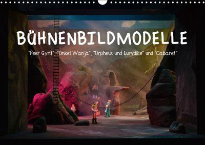 Bühnenbildmodelle (Wandkalender 2019 DIN A3 quer), Pia Tasche