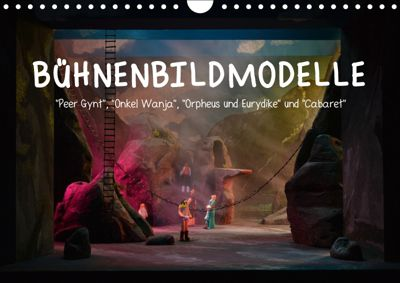 Bühnenbildmodelle (Wandkalender 2019 DIN A4 quer), Pia Tasche