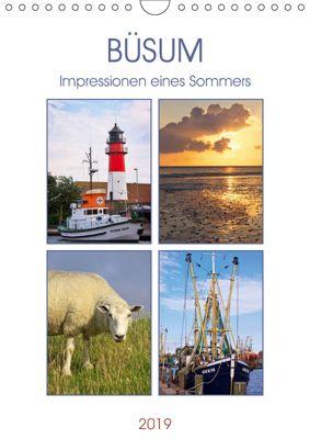 Büsum - Impressionen eines Sommers (Wandkalender 2019 DIN A4 hoch), Angela Dölling