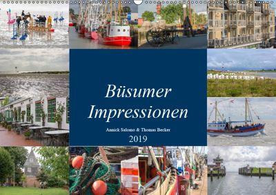 Büsumer Impressionen (Wandkalender 2019 DIN A2 quer), DeBillermoker