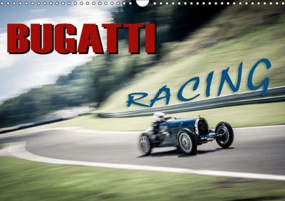 Bugatti - Racing (Wandkalender 2019 DIN A3 quer), Johann Hinrichs