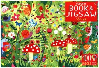Bugs, jigsaw, w. picture book, Kirsteen Robson