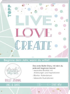 Bullet Journal Lovely Pastell Lines & Shapes - Live, love, create - Ludmila Blum |