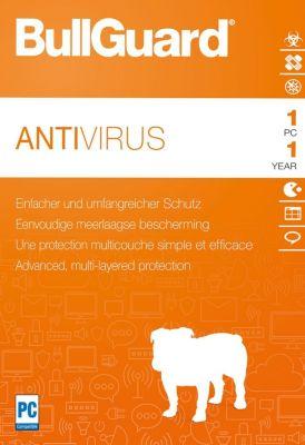 Bullguard Antivirus 2018 (1D-1Y)