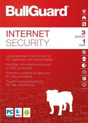 Bullguard Internet Security 2018 (3D-1Y)
