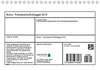 Bullys - Französische Bulldoggen 2019 (Tischkalender 2019 DIN A5 quer) - Produktdetailbild 13