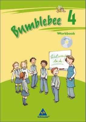 Bumblebee, Ausgabe 2008 für das 3./4. Schuljahr: 4. Schuljahr, Workbook mit Portfoliounterlagen u. Audio-CD