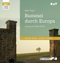 Bummel durch Europa, 1 MP3-CD, Mark Twain
