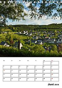 Bundesgolddorf Westfeld-Ohlenbach (Tischkalender 2019 DIN A5 hoch) - Produktdetailbild 6