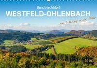 Bundesgolddorf Westfeld-Ohlenbach (Wandkalender 2019 DIN A2 quer), Heidi Bücker