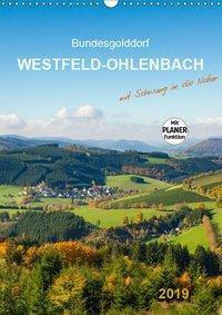 Bundesgolddorf Westfeld-Ohlenbach (Wandkalender 2019 DIN A3 hoch), Heidi Bücker