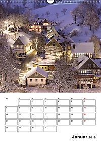Bundesgolddorf Westfeld-Ohlenbach (Wandkalender 2019 DIN A3 hoch) - Produktdetailbild 1