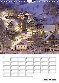 Bundesgolddorf Westfeld-Ohlenbach (Wandkalender 2019 DIN A4 hoch) - Produktdetailbild 1