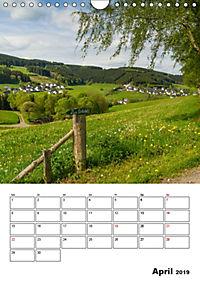 Bundesgolddorf Westfeld-Ohlenbach (Wandkalender 2019 DIN A4 hoch) - Produktdetailbild 4