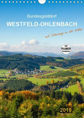Bundesgolddorf Westfeld-Ohlenbach (Wandkalender 2019 DIN A4 hoch), Heidi Bücker