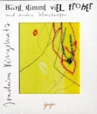 Bunt stimmt viel froher, 1 Audio-CD, Joachim Ringelnatz