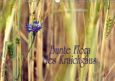Bunte Flora des Kraichgaus (Wandkalender 2019 DIN A3 quer), Monika Reiter