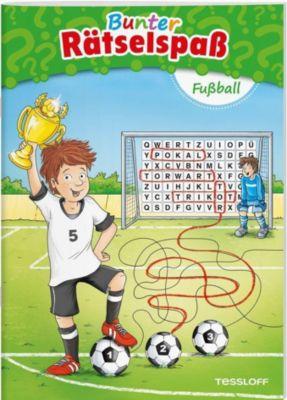 Bunter Rätselspaß Fußball