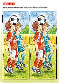 Bunter Rätselspaß Fußball - Produktdetailbild 3