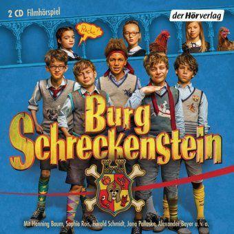Burg Schreckenstein, 2 Audio-CDs - Oliver Hassencamp |