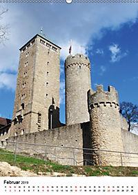 Burgen an der Bergstraße (Wandkalender 2019 DIN A2 hoch) - Produktdetailbild 2
