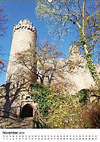 Burgen an der Bergstraße (Wandkalender 2019 DIN A2 hoch) - Produktdetailbild 11