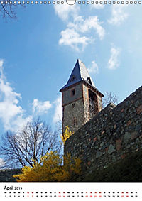 Burgen an der Bergstraße (Wandkalender 2019 DIN A3 hoch) - Produktdetailbild 4