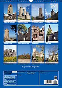 Burgen an der Bergstraße (Wandkalender 2019 DIN A3 hoch) - Produktdetailbild 13