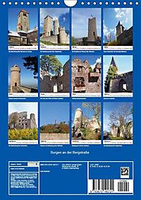 Burgen an der Bergstraße (Wandkalender 2019 DIN A4 hoch) - Produktdetailbild 1