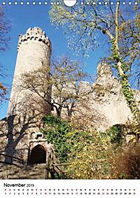 Burgen an der Bergstraße (Wandkalender 2019 DIN A4 hoch) - Produktdetailbild 2