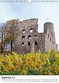 Burgen an der Bergstraße (Wandkalender 2019 DIN A4 hoch) - Produktdetailbild 4